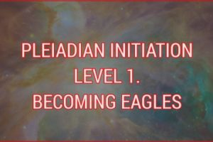 PLEIADIAN INITIATION LEVEL 1. BECOMING EAGLES
