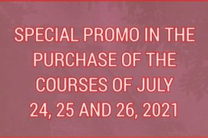 PROMO OF THE COURSES OF JULY 24, 25 AND 26